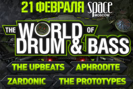 THE WORLD OF DRUM AND BASS  2015
